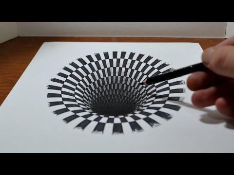 3d chalk drawing tutorial