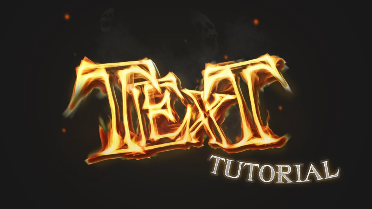 3d text effect tutorial