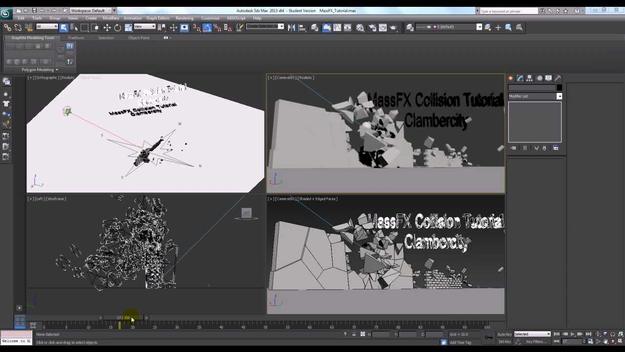3ds max collision tutorial