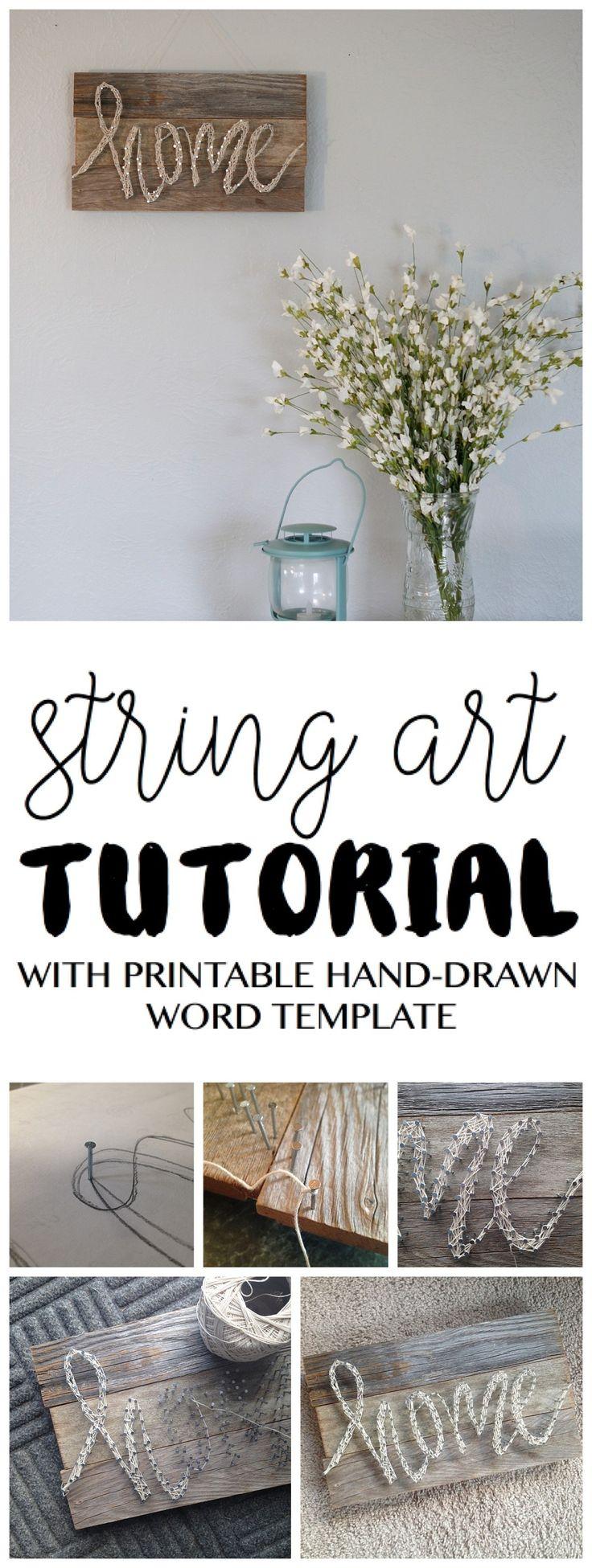 digital string art tutorial