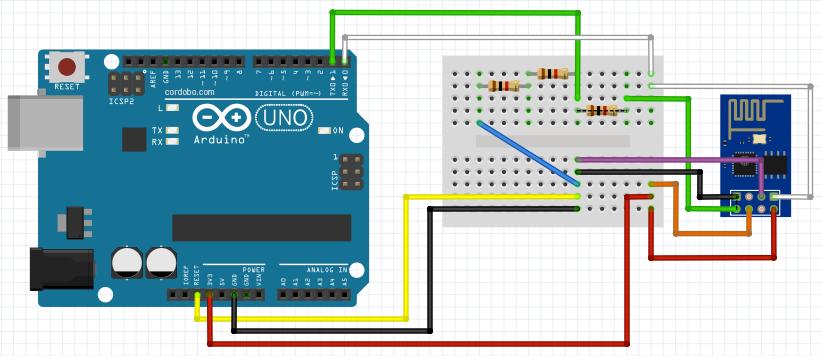 esp 01 arduino tutorial