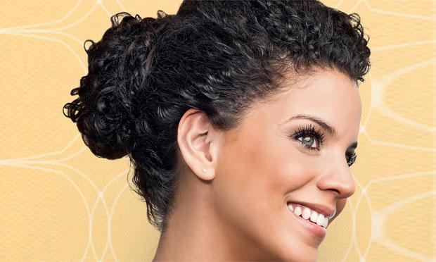 volume curly hair tutorial
