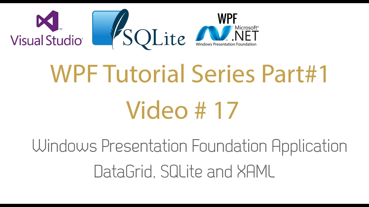 wpf web application tutorial