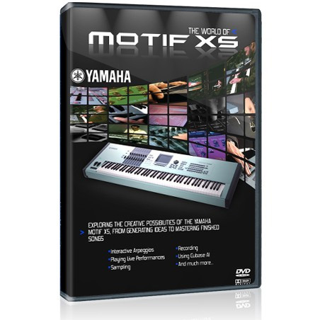 yamaha motif xf tutorial dvd