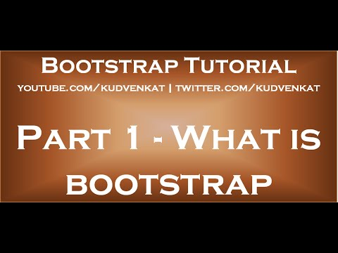 bootstrap tutorial for beginners
