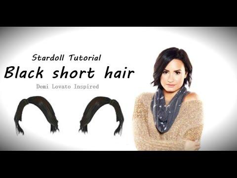 demi lovato short hair tutorial