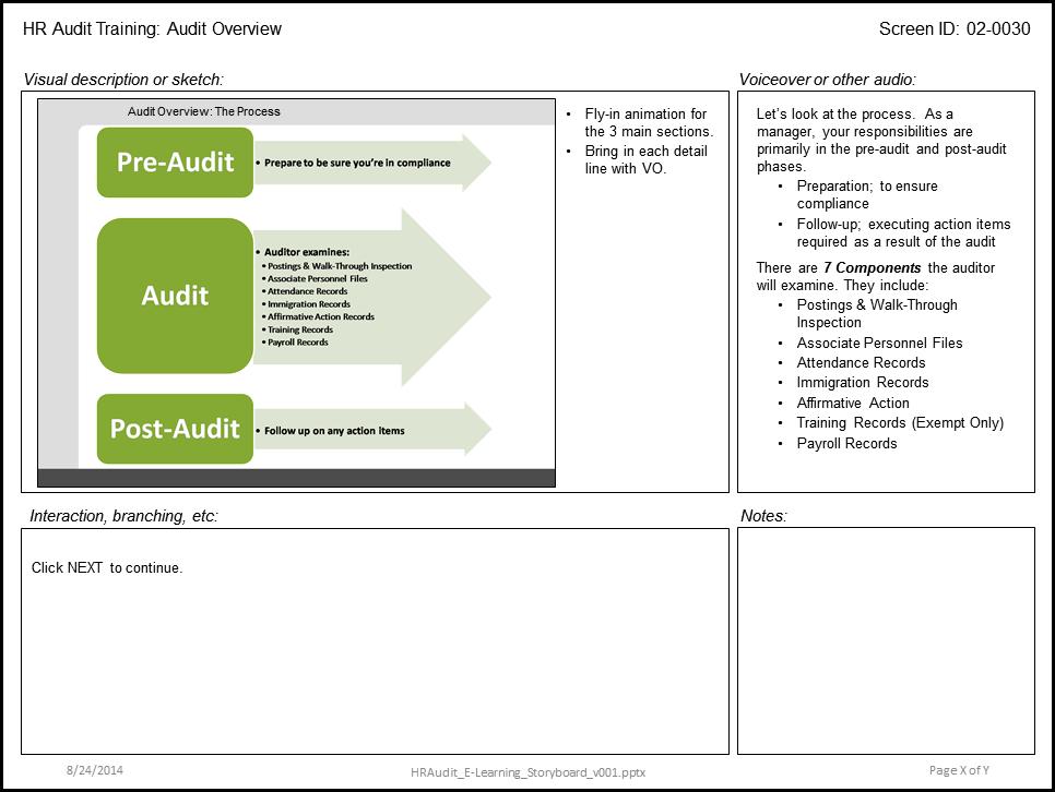 idea audit software tutorial