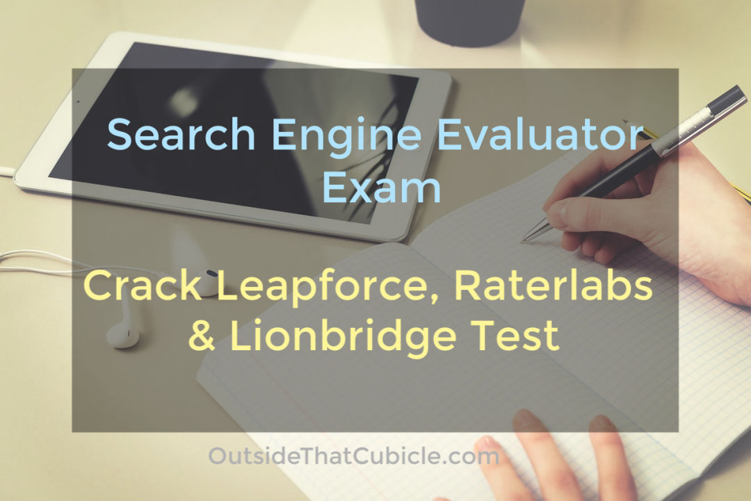 search engine evaluator tutorial