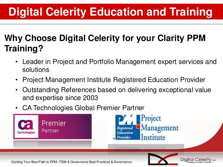 clarity project management tutorial