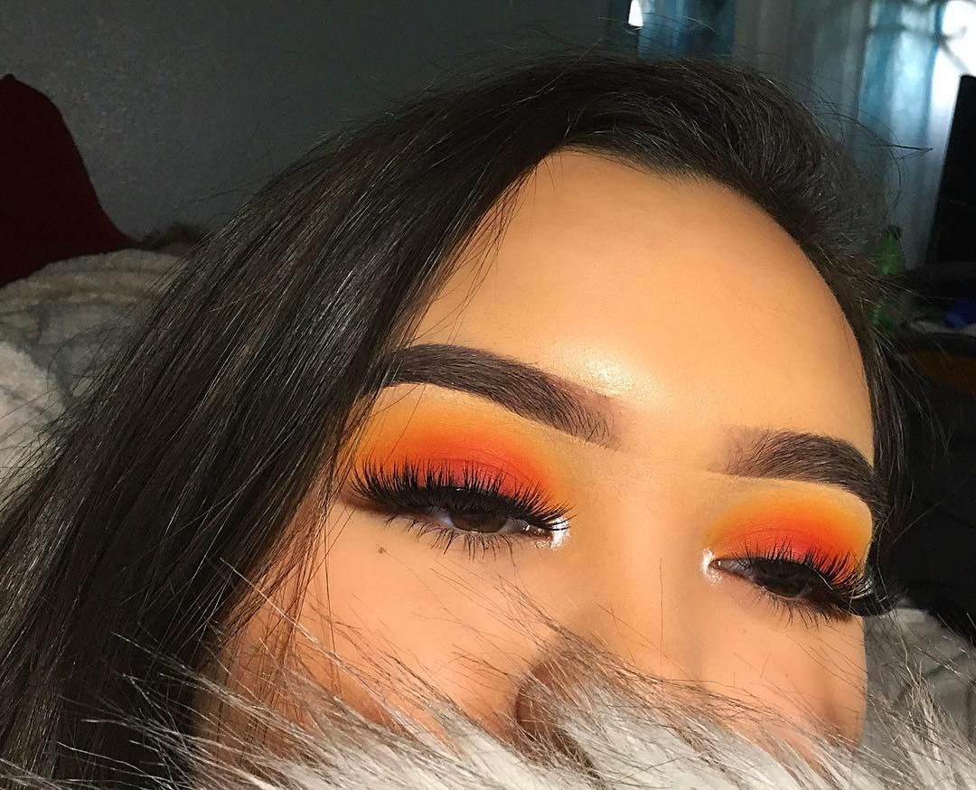 sunset eye makeup tutorial