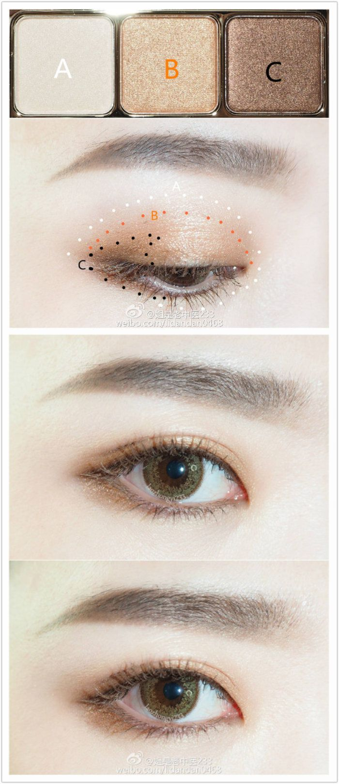 natural makeup tutorial for blue eyes