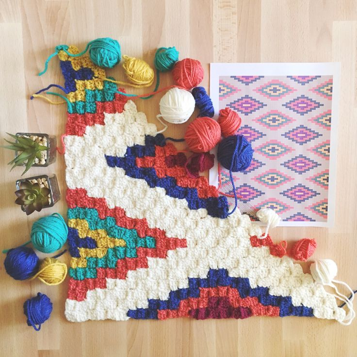 corner to corner crochet baby blanket tutorial