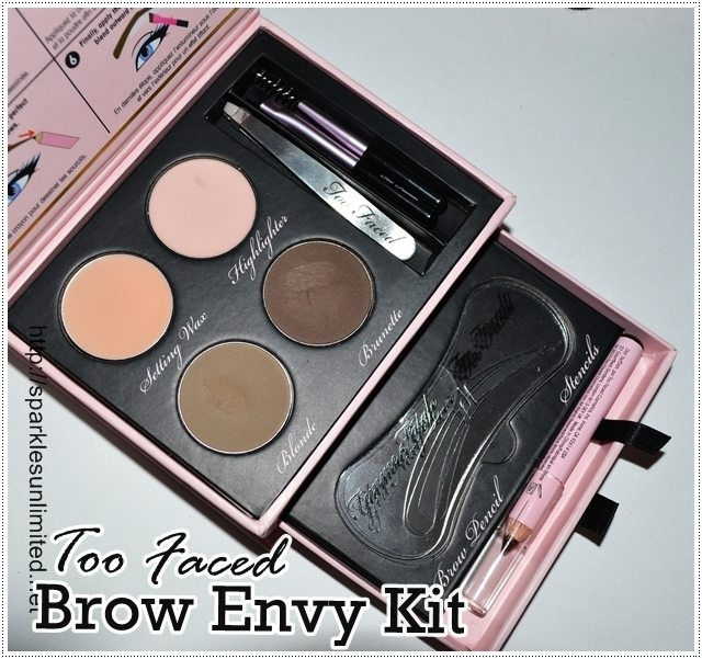 too faced brow envy tutorial