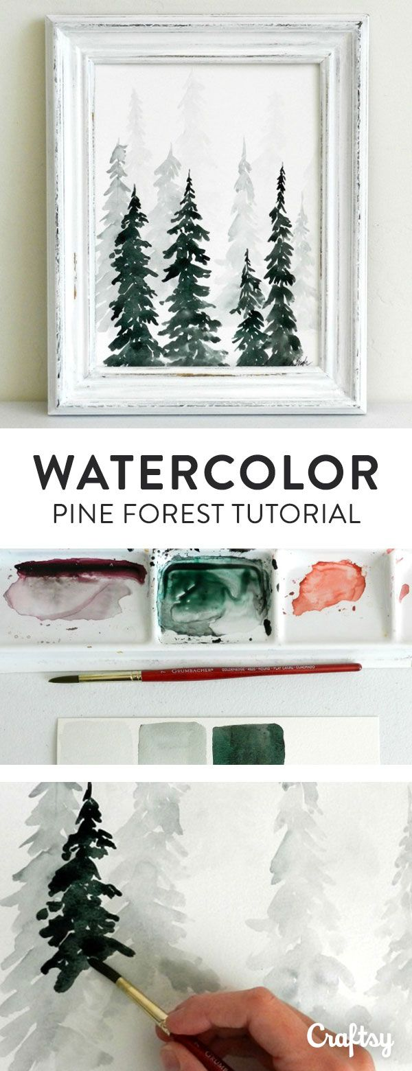 easy watercolor painting tutorial