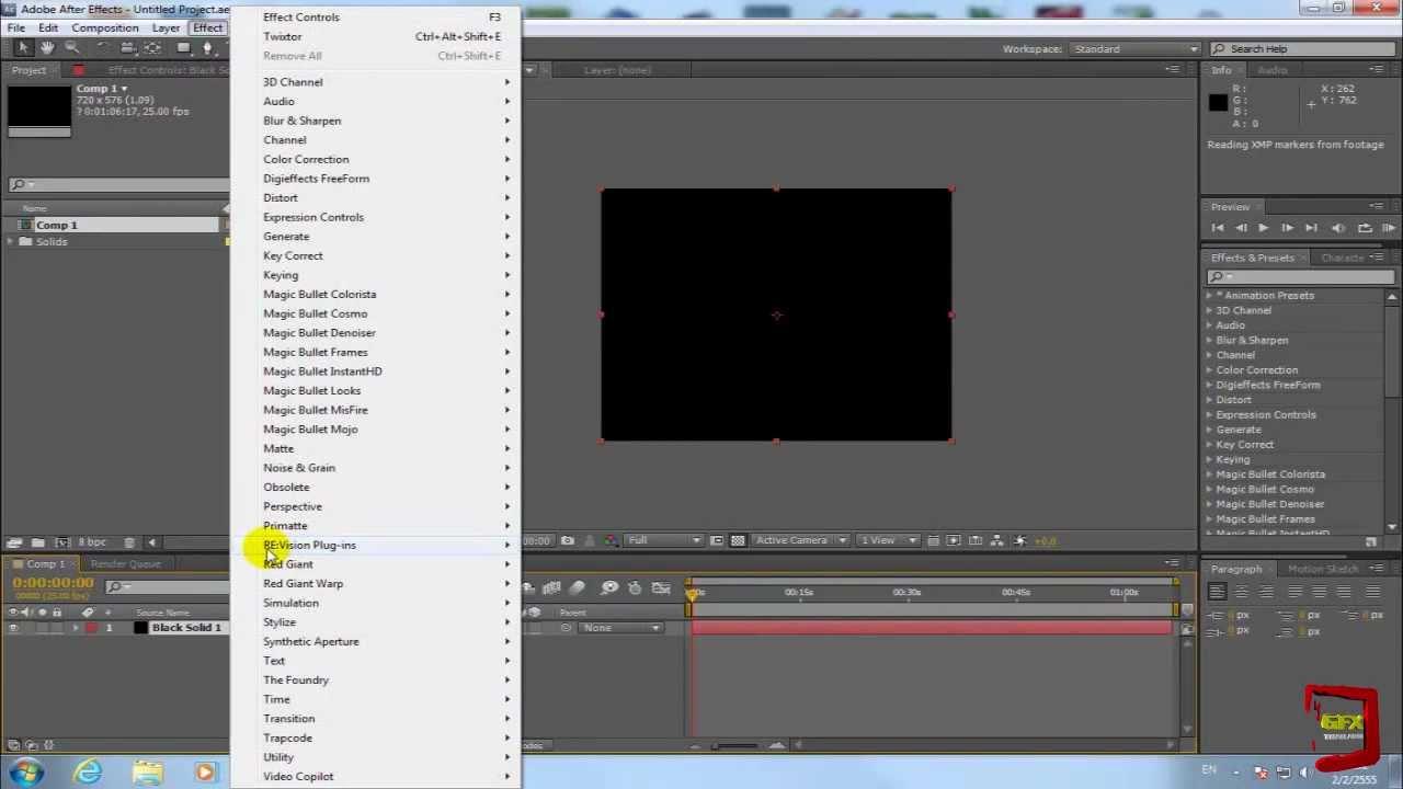 adobe premiere pro cs5 tutorial effects