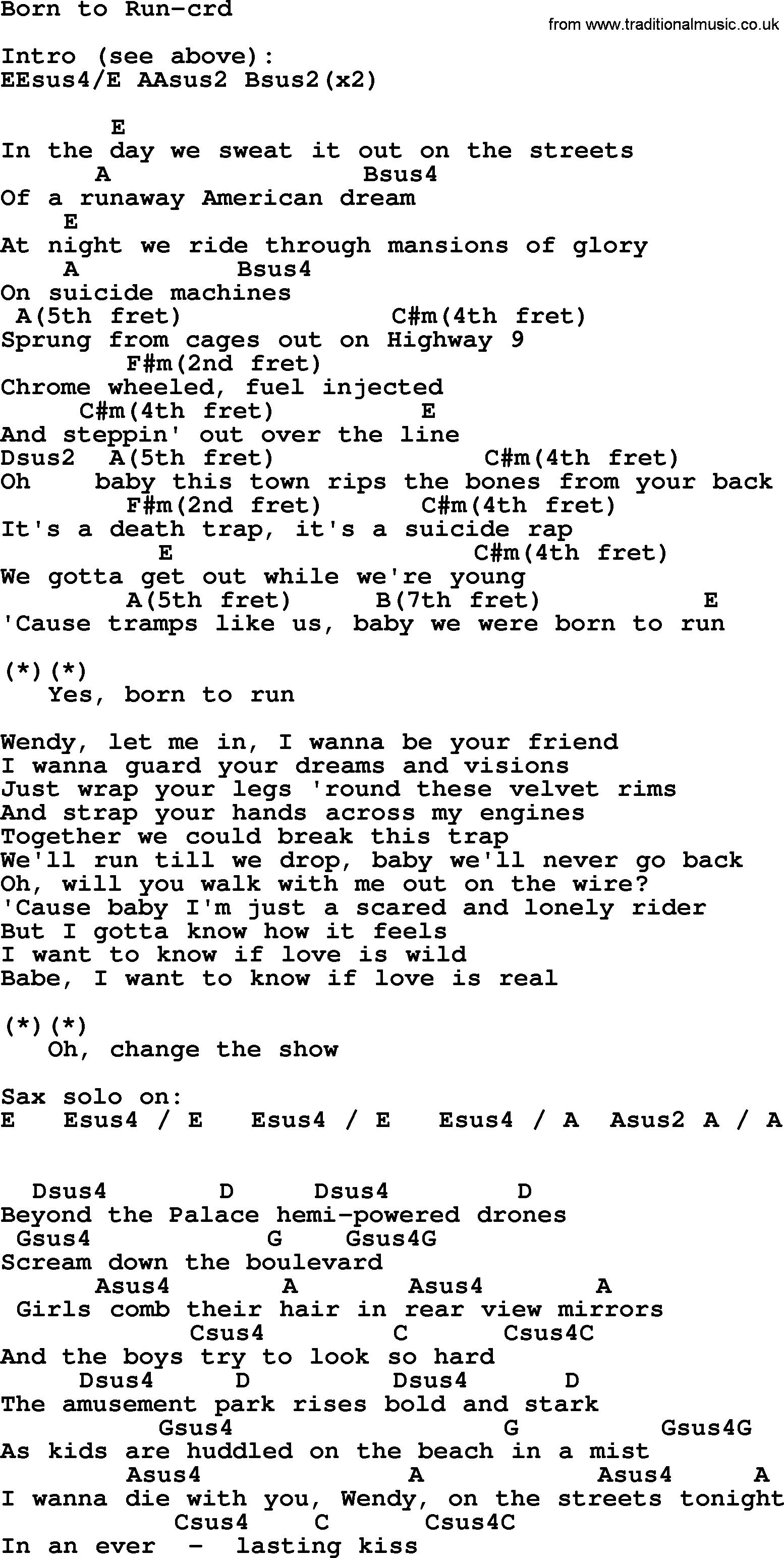 born for you guitar tutorial