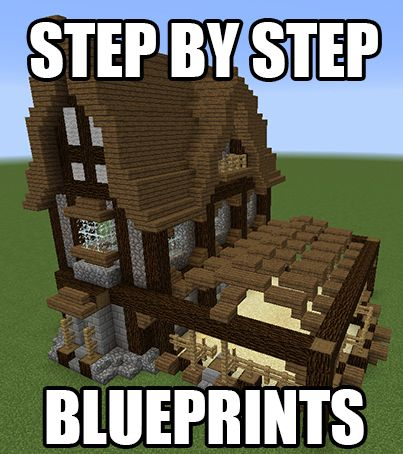 minecraft huge castle tutorial step by step