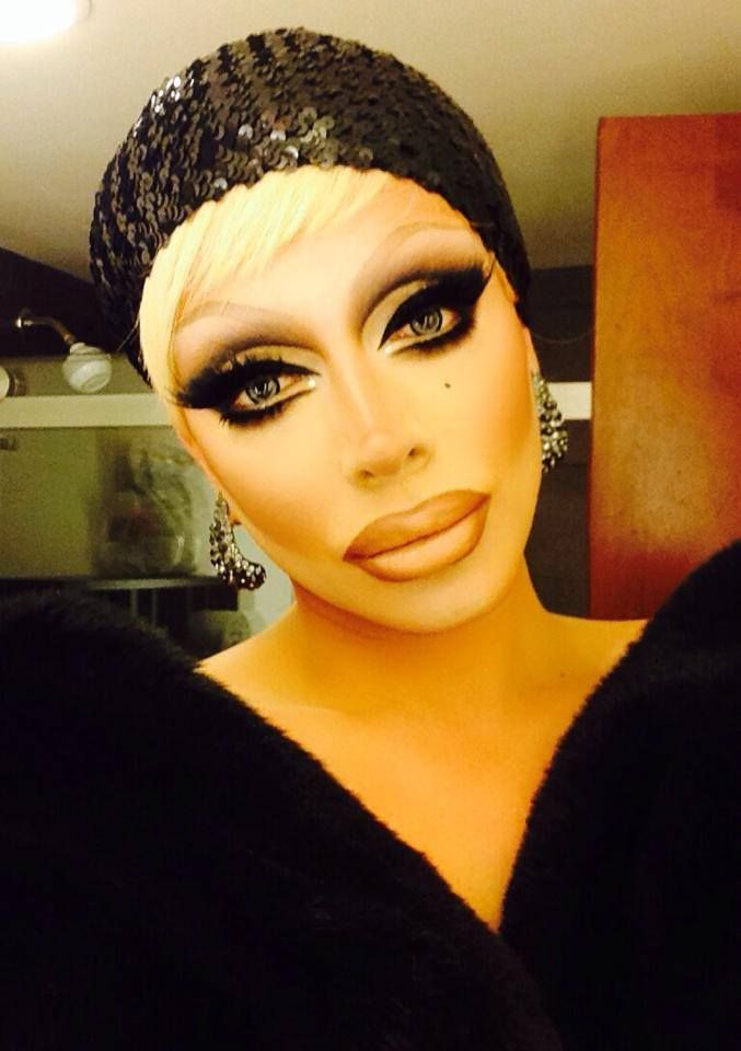 raven drag queen makeup tutorial