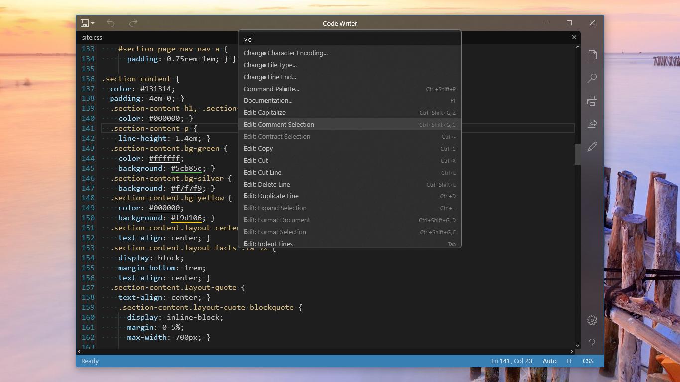 code writer windows 10 tutorial