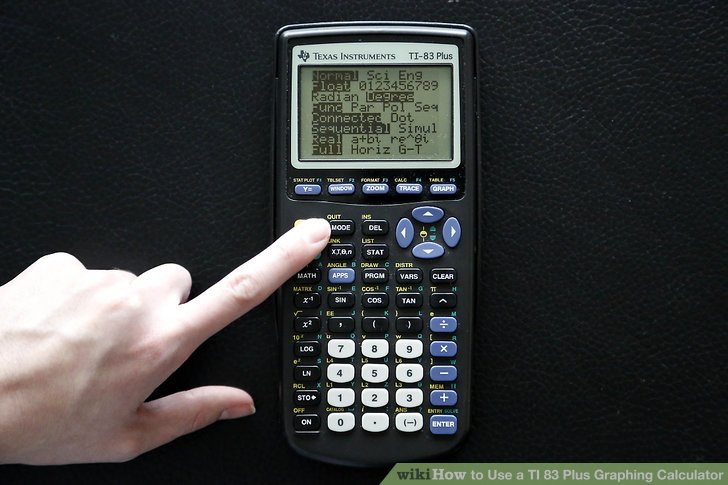 ti 84 plus graphing calculator tutorial