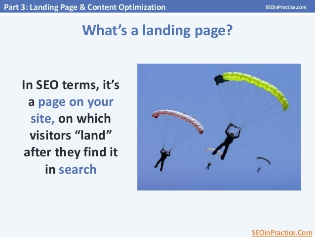 on page optimization in seo tutorial