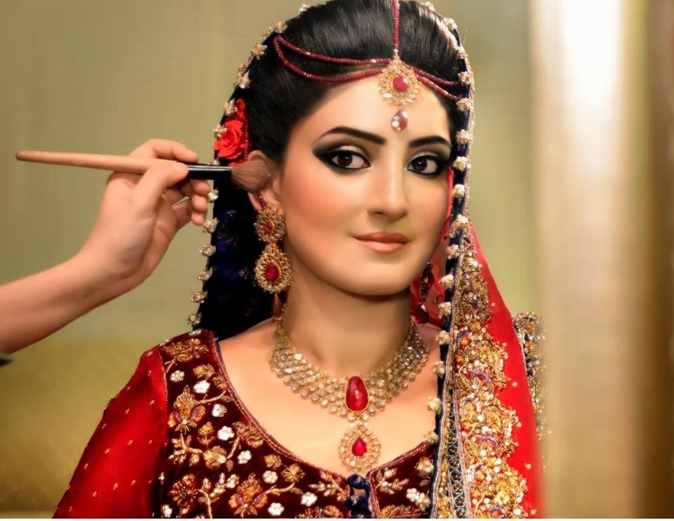 indian bridal makeup tutorial step by step