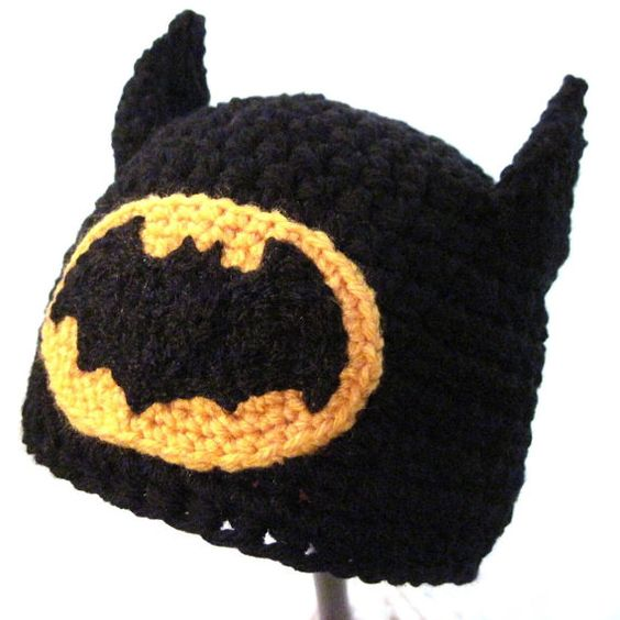 crochet batman hat tutorial
