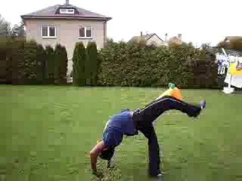 back bend kick over tutorial