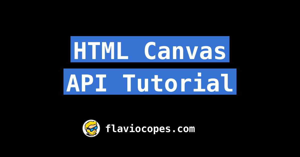 html canvas animation tutorial
