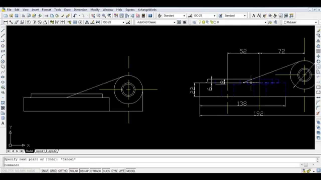 autocad 3d tutorial 2017
