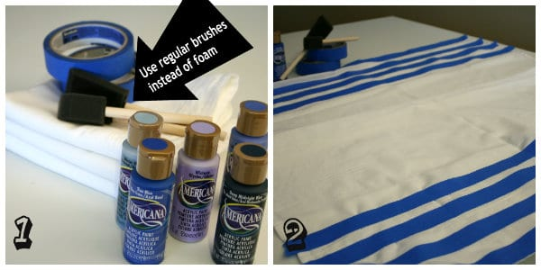 fabric painting tutorial for beginners