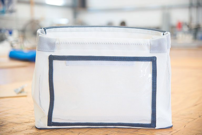 clear vinyl bag tutorial