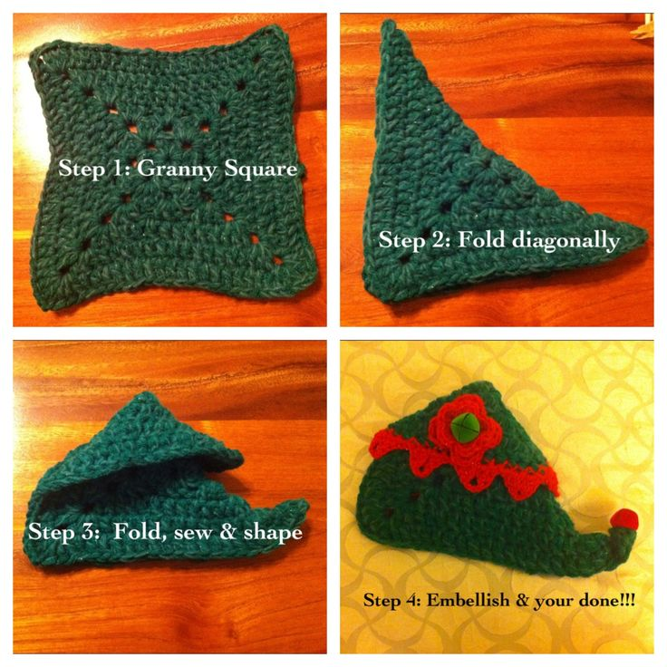 crochet elf slippers tutorial