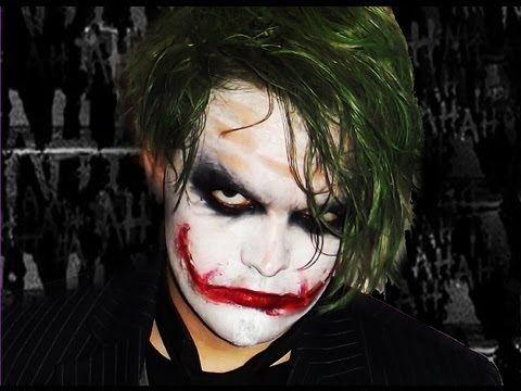 joker makeup tutorial heath ledger
