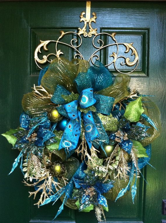 deco mesh poinsettia wreath tutorial