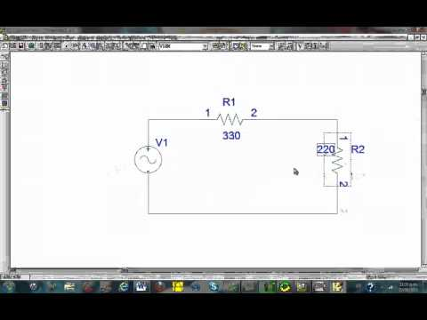 orcad pspice simulation tutorial