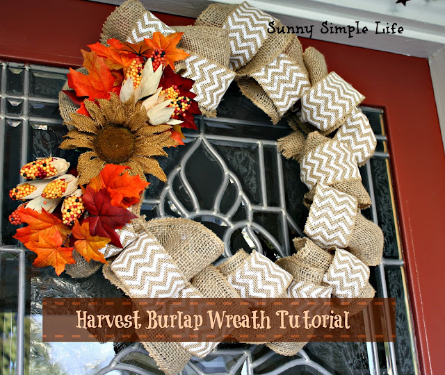 wire wreath frame with ties tutorial