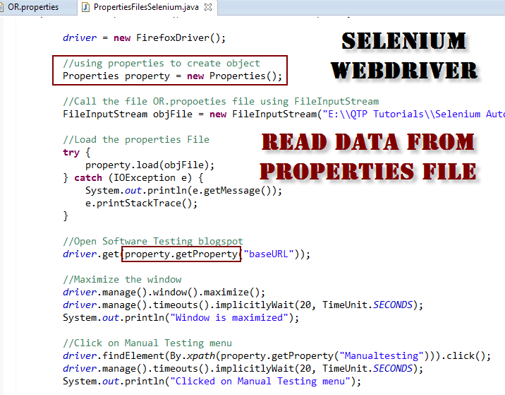 selenium webdriver tutorial java eclipse with examples