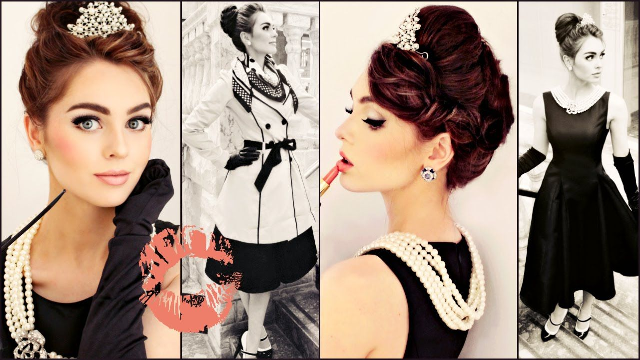 audrey hepburn hair tutorial