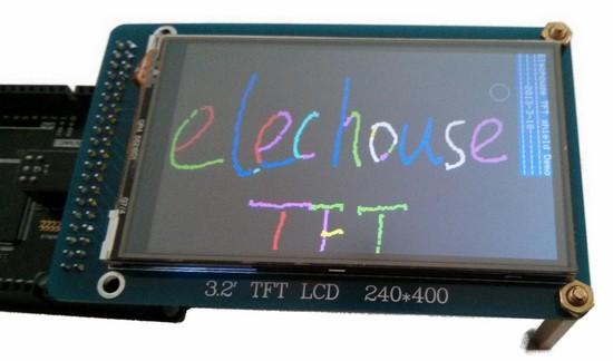 arduino 2.8 tft touch shield tutorial
