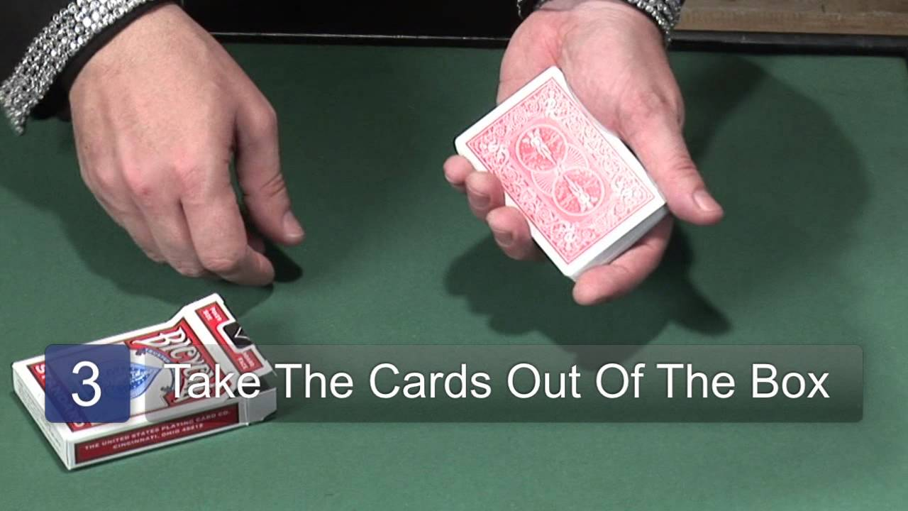 color change card trick tutorial