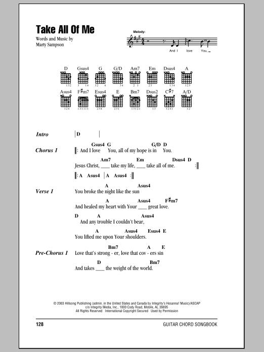 all of me guitar tutorial