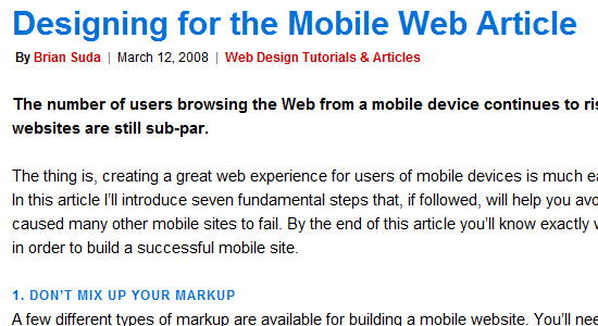 mobile responsive website tutorial