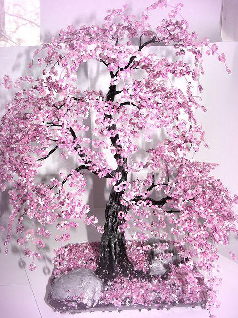 beaded bonsai tree tutorial