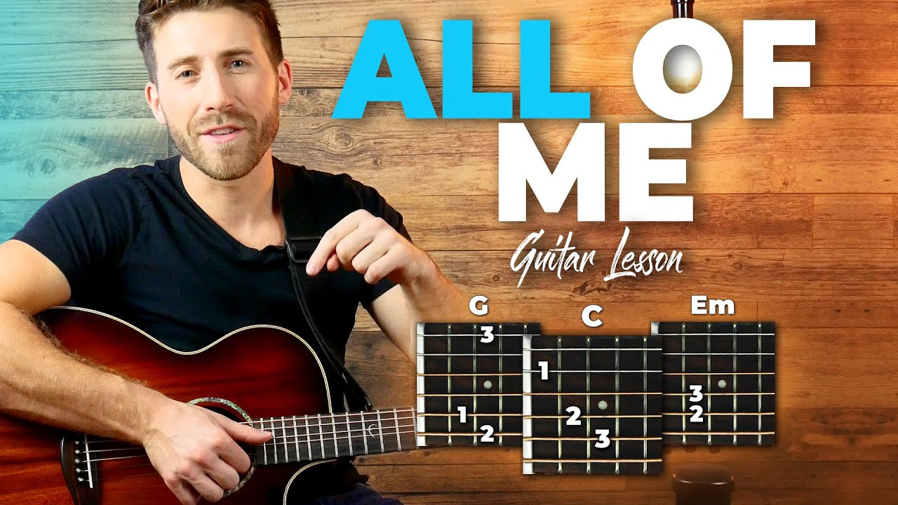 all of me guitar tutorial