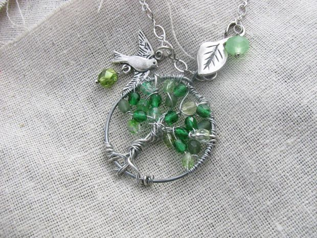tree of life pendant tutorial youtube