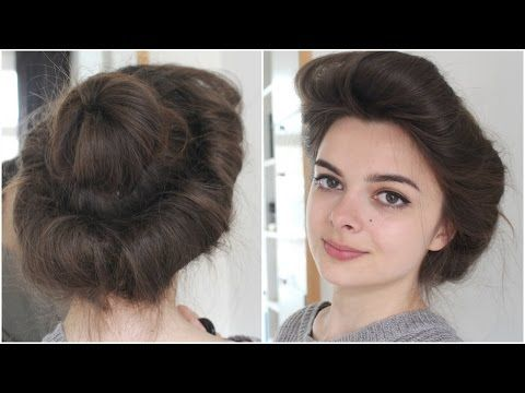 belle town hair tutorial
