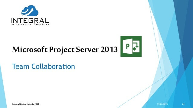 microsoft project server 2013 tutorial