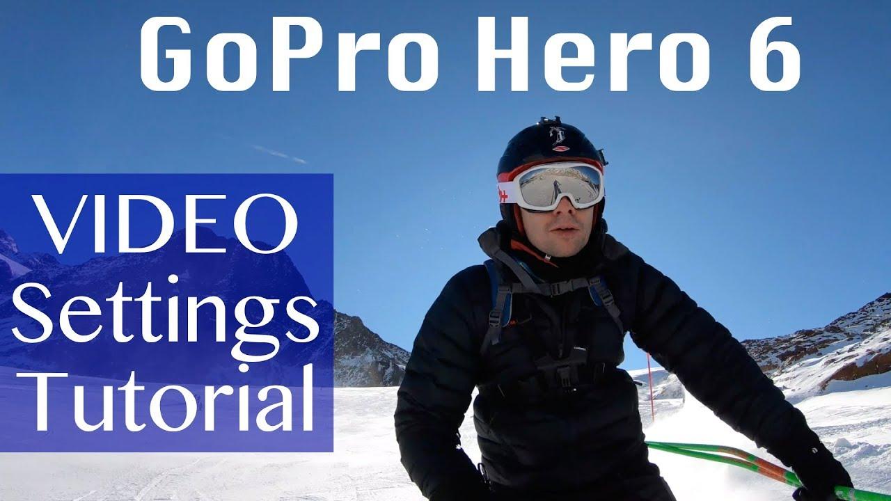 tutorial gopro hero 6