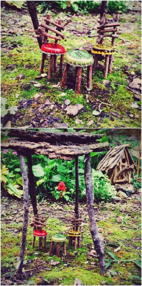 fairy garden furniture tutorial